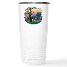 St. Fran #2/ German Shepherd (P) Travel Mug