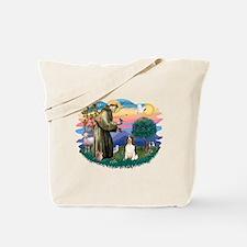 St. Fran #2/ English Springer (liver) Tote Bag