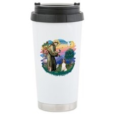 St. Fran #2/ English Springer (liver) Travel Mug