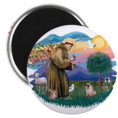 St Francis #2/ Pug (fawn) 2.25