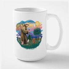 St. Fran #2/ Apricot Poodle (min) Large Mug