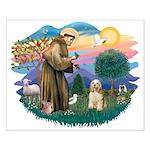 St. Fran #2/ Cocker Spaniel (#10) Small Poster