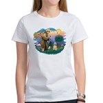 St. Fran #2/ Cocker Spaniel (#10) Women's T-Shirt