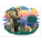 St Francis #2/ E Bulldog #3 Small Poster