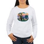 St Francis #2/ E Bulldog #3 Women's Long Sleeve T-