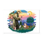 St. Fran #2/ English Bulldog (BrW) Mini Poster Pri