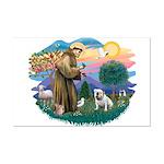 St. Fran #2/ English Bulldog (W) Mini Poster Print