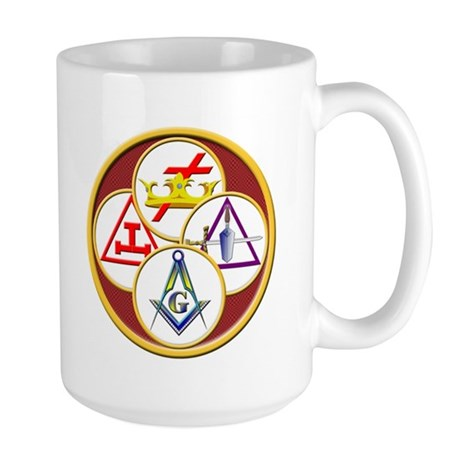 Masonic York Rite Large Mug