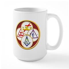 Masonic York Rite Mug