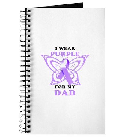 I Wear Purple for My Dad Journal