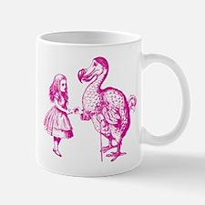 Alice and Dodo Pink Mug