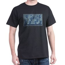 WWII Sailors 1945 Victory Black T-Shirt