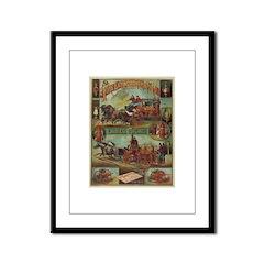 Babcock & Champion Poster Framed Panel Print