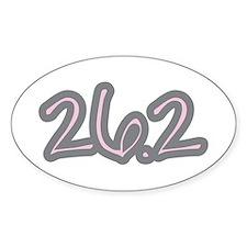 Marathon Pink Stickers
