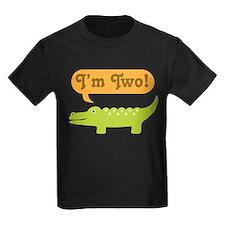 Alligator 2nd Birthday T