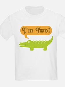 Alligator 2nd Birthday T-Shirt