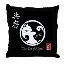 Tao of Meow: Throw Pillow