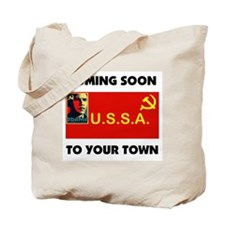 FIRST SOCIALIST PRESIDENT Tote Bag