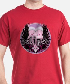 Twilight Eclipse Pink Heart T-Shirt