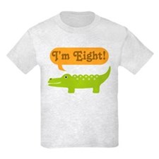 Alligator 8th Birthday T-Shirt