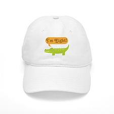 Alligator 8th Birthday Baseball Cap