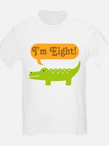 Alligator 8th Birthday T-Shirt