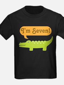 Alligator 7th Birthday T