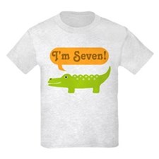 Alligator 7th Birthday T-Shirt