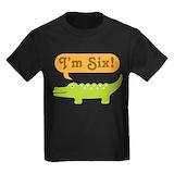 6th birthday Kids T-shirts (Dark)