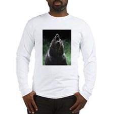 Long Sleeve T-Shirt - Growling Grizzly