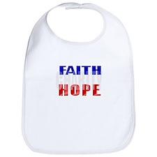 FAITH HOPE CHARITY Bib