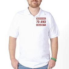 Cranky 70th Birthday T-Shirt