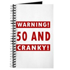 Cranky 50th Birthday Journal
