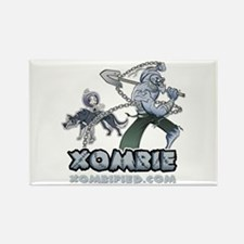XOMBIE Rectangle Magnet