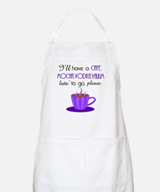 Cafe Latte Apron