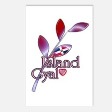 Island Gyal twig - DR - Postcards (Package of 8)