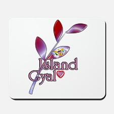 Island Gyal twig - USVI - Mousepad