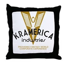 Kramerica Industries Faded Throw Pillow