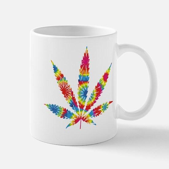 Rainbow Hippie Weed Mug