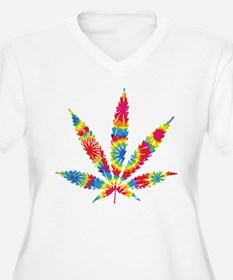 Rainbow Hippie Weed T-Shirt