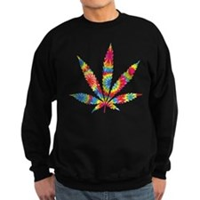 Rainbow Hippie Weed Jumper Sweater