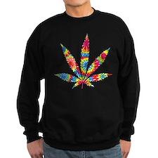 Rainbow Hippie Weed Sweatshirt