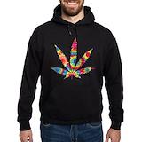 Marijuana Dark Hoodies