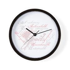 Indescribable God Wall Clock