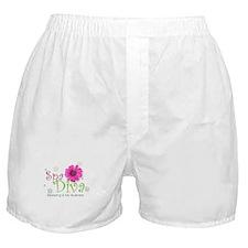 Cute Diva Boxer Shorts