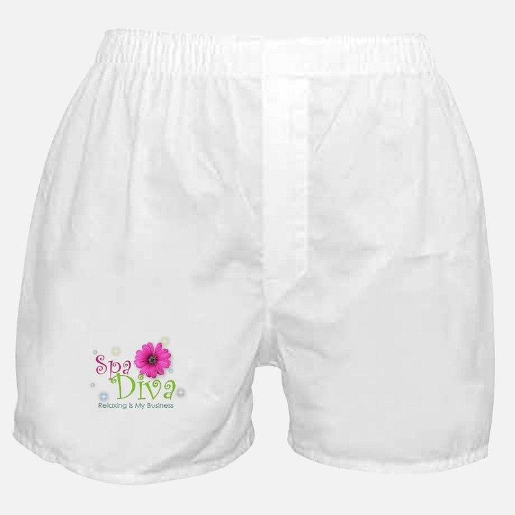 Cute Spa diva Boxer Shorts