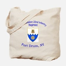2nd Bn 22nd Inf Reg Tote Bag