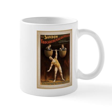 Vintage strong man Mug