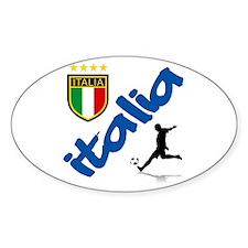 Italian World Cup Soccer Decal