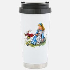 ALICE & THE RABBIT Travel Mug